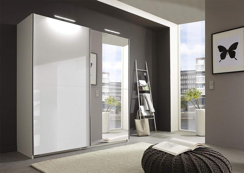 Wimex Alemana Meissen Blanco Brillante Espejo 2 Puertas 180 cm ...