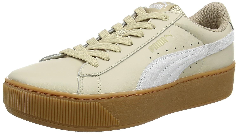 Puma Vikky Platform L, Zapatillas para Mujer 42 EU Beige (Safari- White)