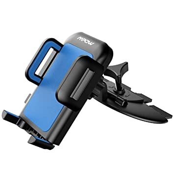 30f50a7975f Soporte Magnética Universal de Móviles para Ranura de CD de Coches,Mpow  Grip Pro 2