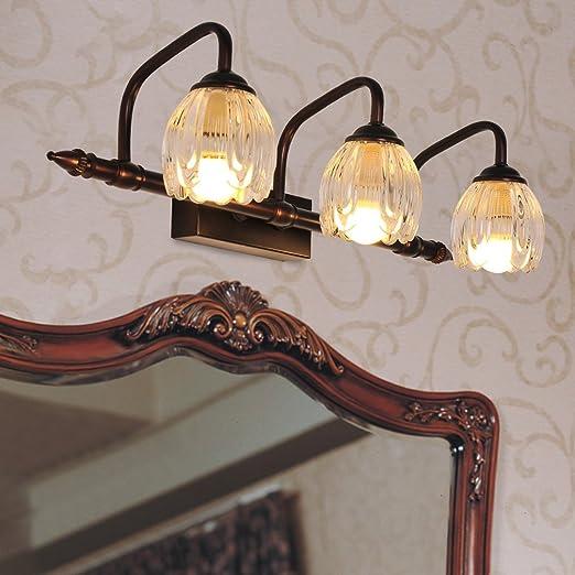 Spiegellampen Europäischklassischen Spiegel Leuchten Badezimmer - Spiegelleuchten badezimmer