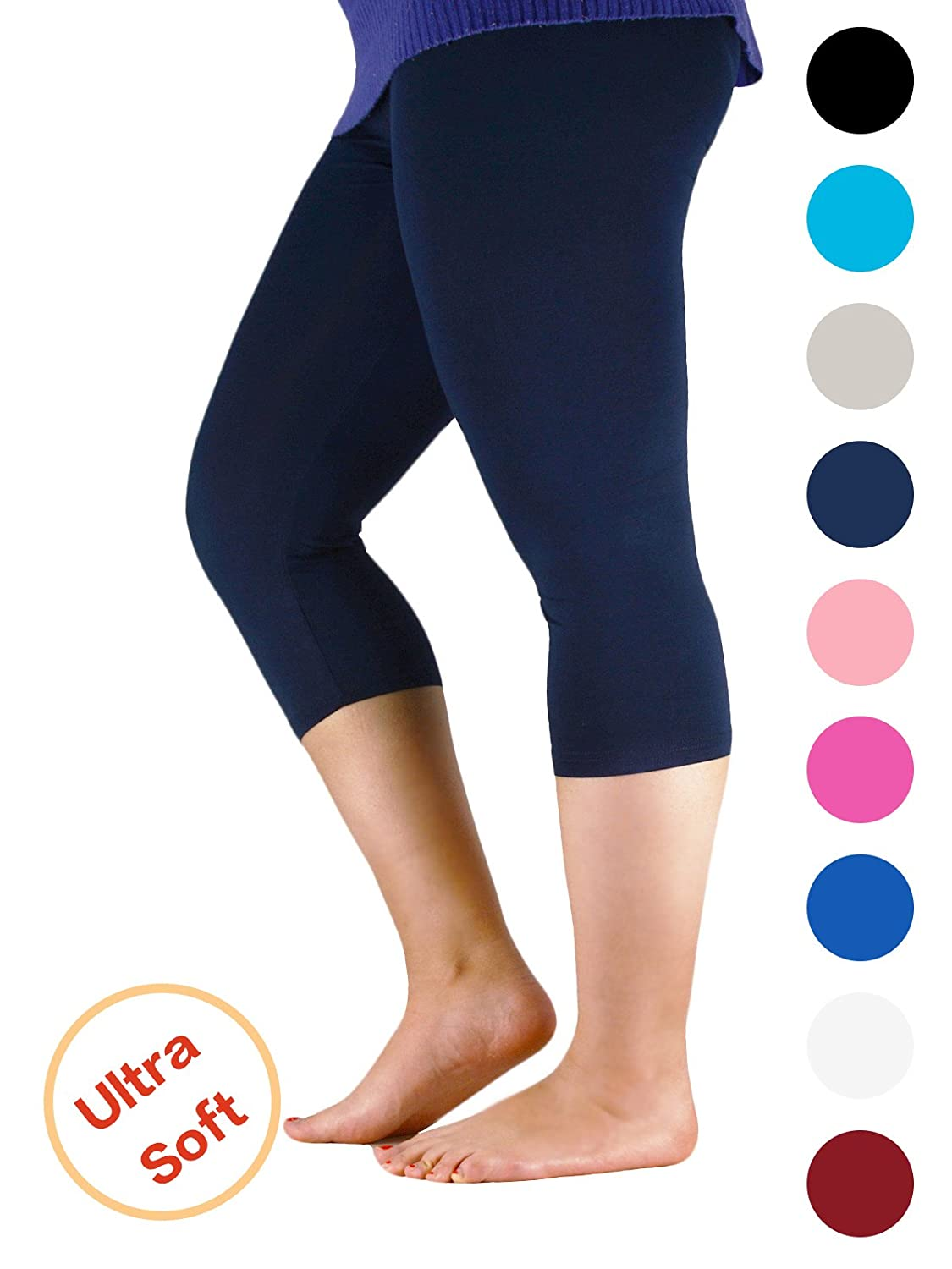 e6c85bf0fe2 Seamless design allows for easy layering. Get comfortable and look fabulous  in these super soft and stretchy leggings.