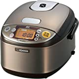 Zojirushi IH rice cooker 3 Go stainless Brown NP-GG05-XT