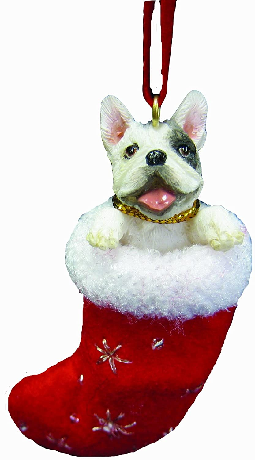 Dog christmas ornaments - Selected French Bulldog Christmas Ornaments