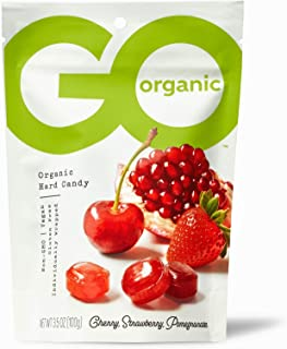 product image for GoOrganic Organic Hard Candies, Assorted Flavors, 3.5 Ounce Bag (Pack of 6)