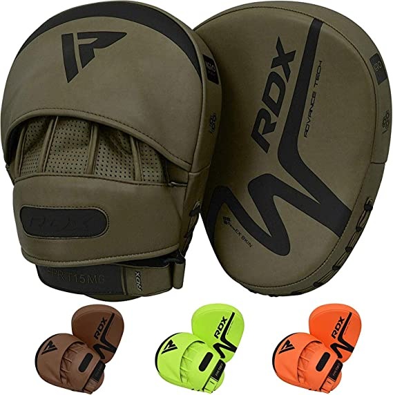 Tuf Wear Lightweight Curved Focus Pads Boxing Hook /& Jab Pads MMA Target Pads