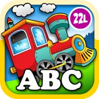 Kids Animal Train: Preschool and Kindegarten Learning Matching and Reading Adventure – ABC First Word Educational Games for Toddler Loves Farm and Zoo Animals & Colors (Abby Monkey edition)