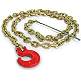 Portable Winch Co. PCA-1295 7' Choker Chain with C-Hook and Steel Rod (PCA-1295)