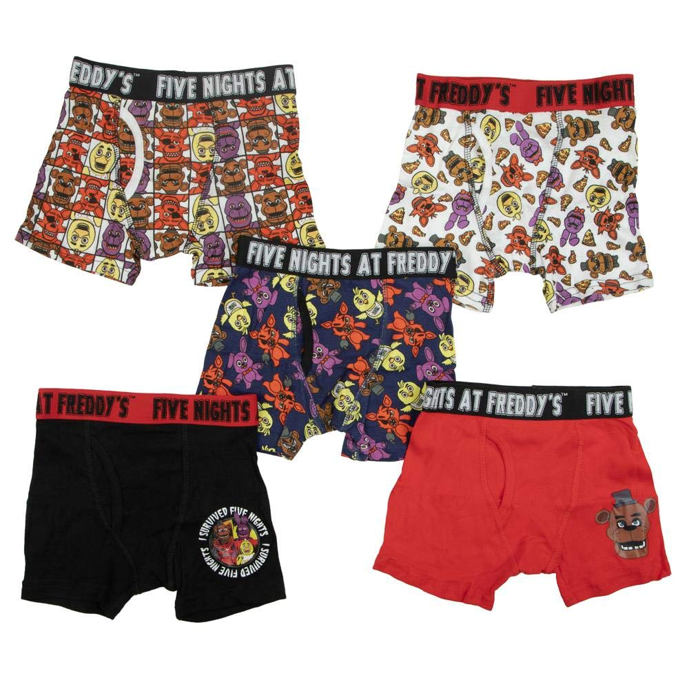 Five Nights at Freddy's Boxer Briefs Underwear Set - 5 Pack-8