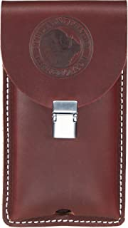 product image for Occidental Leather 5328 Occidental Hand crafted Clip-On Leather Phone Holster for Large Phones