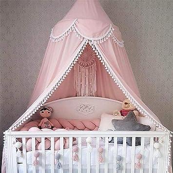 Amazon.com: Toldo de cama, mosquitera Princesa Mosquitera ...