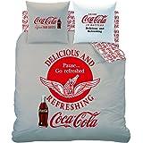 Housse de couette et deux taies (240 cm) Coca-cola wings