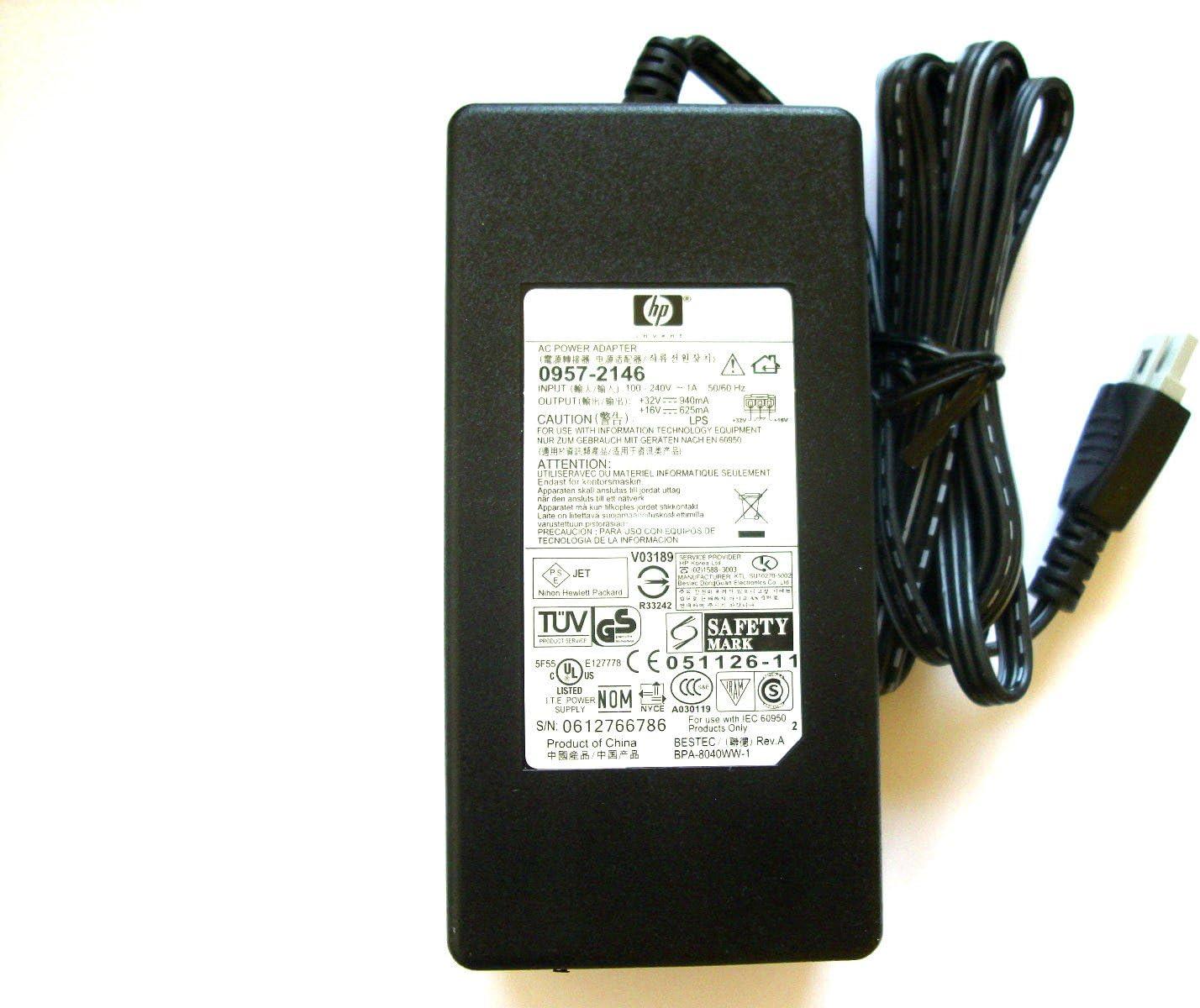 HP 0957-2146 Deskjet Officejet Impresora Fuente De Alimentación ...