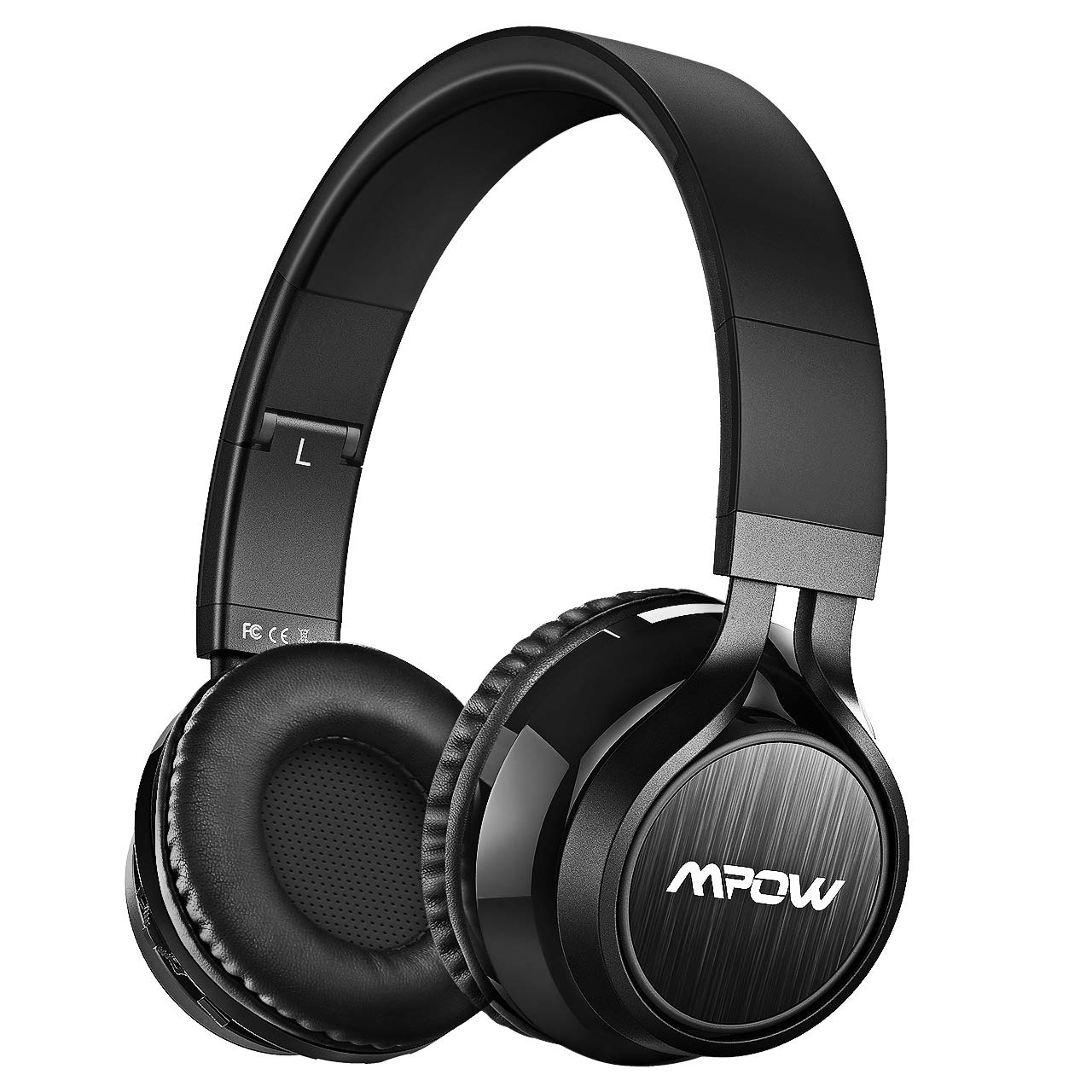 Mpow Thor Bluetooth Headphones On Ear, Hi-Fi Stereo Wireless Headset Foldable with Mic, Lightweight Comfortable Protein Earpads, Wired Wireless Mode Bluetooth Headphones for Cellphone TV PC