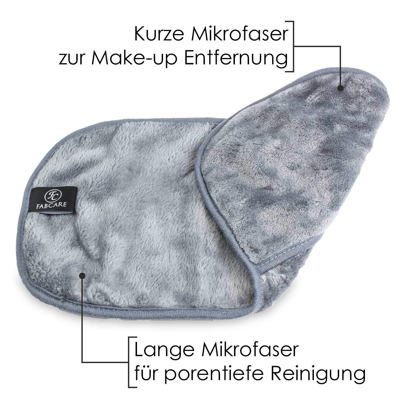 Toallitas Desmaquillantes Microfibra (8 Piezas) - Lavable y Reutilizable - Guante Desmaquillante Facial Integrado - Toalla Desmaquillante Facial - Toalla ...