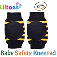 Liltoes Soft Baby Safety Knee & Elbow Pads 1 Pairs (Blue)