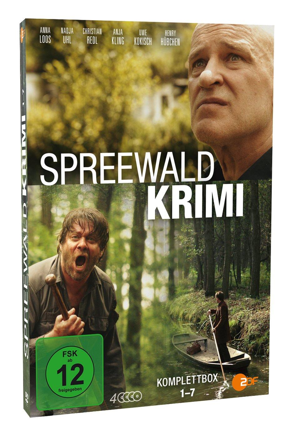 Spreewaldkrimi Komplettbox Folge 1 7 4 Dvds Amazonde