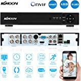 KKmoon 8 Channel 720P CCTV Network DVR H.264 HDMI Home Security System Motion Detection