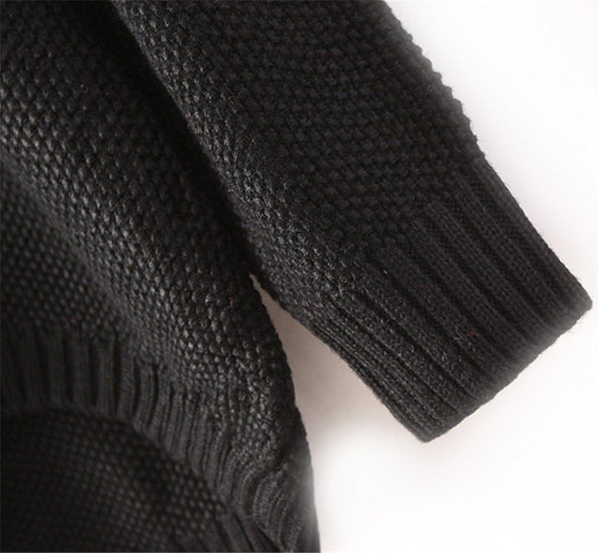 Sheinside® femeninos Pull over espalda roto contrastada tallas de vaquero, color negro negro: Amazon.es: Ropa y accesorios