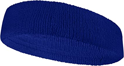 COUVER Premium Quality Large /& Thick Basketball//Sports Headband for Large Head