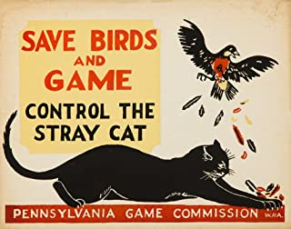 product image for WPA - Pennsylvania Game Commission Vintage Poster (artist: WPA) c. 1935 (36x54 Giclee Gallery Print, Wall Decor Travel Poster)