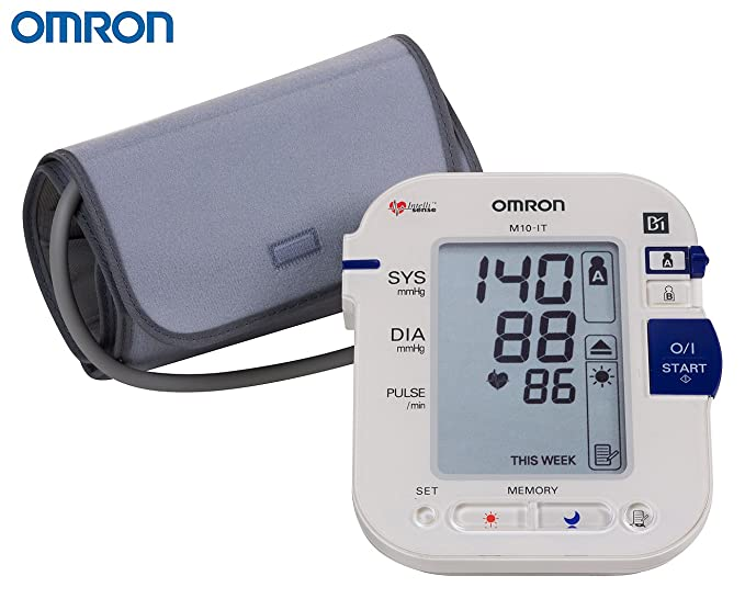OMRON BLOOD PRESSURE MONITOR- M10 IT: Amazon.es: Salud y cuidado personal