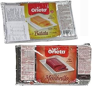 2 Pack Dulce DE Batata Dulce MEMBRILLO Spread Sweet Potato JAM Quince Jelly 850G
