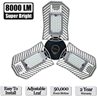 Lead-Go 8000-Lumen 3-LED Garage Light (80W Standard)