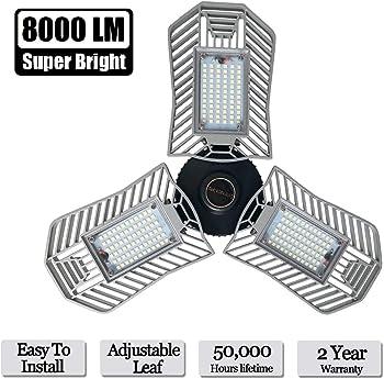 Lead-Go 8000-Lumen 3-LED Garage Light