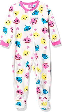 Amazon.com: Baby Shark Baby Girls' Blanket Sleeper: Clothing