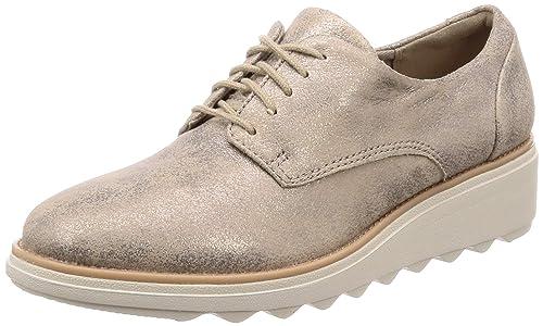 f6ff68df Clarks Sharon Crystal, Zapatos de Cordones Derby para Mujer: Amazon.es:  Zapatos y complementos