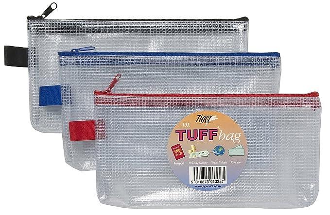 Tiger DL Tuff Bag Estuche: Amazon.es: Oficina y papelería