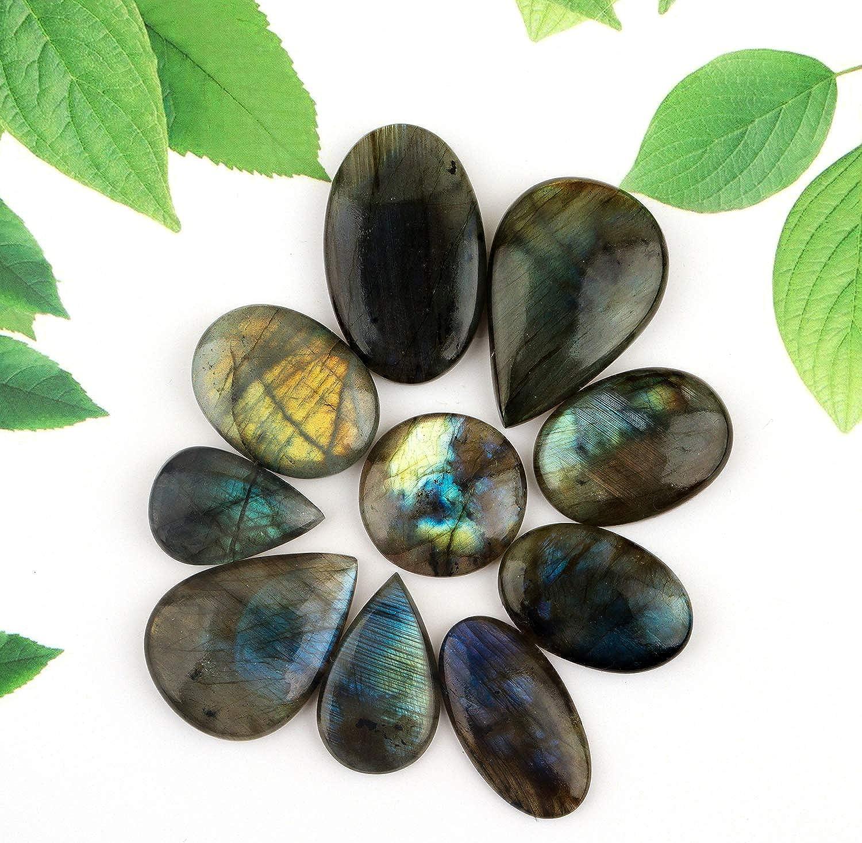 mm Amazing Labradorite Spectrolite Cabochons Spectrolite Gemstone Natural Top Quality Handmade Labradorite Loose Stone 75cts. 48X29