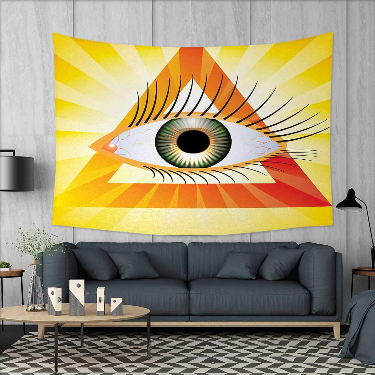 Amazon.com: Eye Home Decorations for Living Room Bedroom Realistic ...
