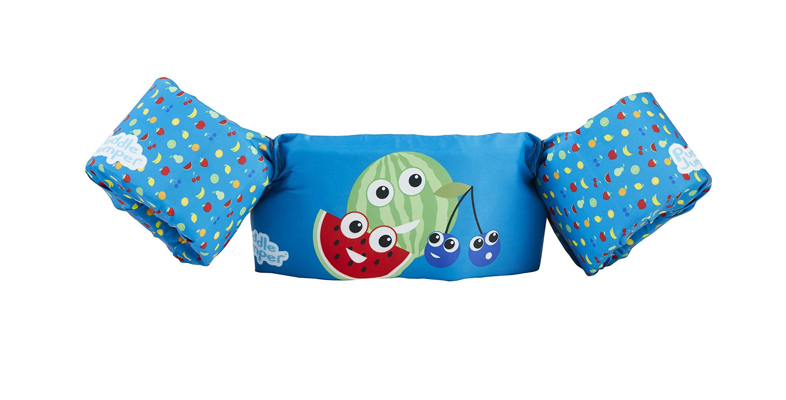 Stearns Puddle Jumper Kids Life Jacket   Life Vest for Children, Mixed Fruit, 30-50 Pounds