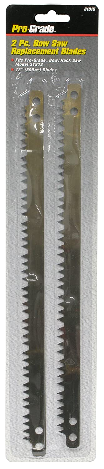 Pro-Grade 31915 Bow Saw Replacement Blades, 2-Piece