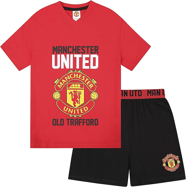 Boys Manchester United Football Club Pyjama Set