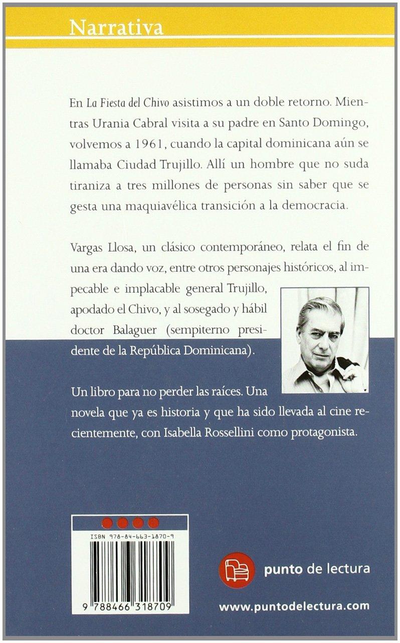La fiesta del chivo (FORMATO GRANDE): Amazon.es: Mario Vargas Llosa: Libros