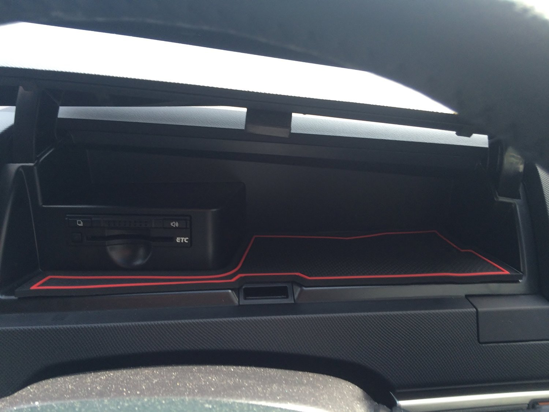 KINMEI Toyota Estima ESTIMA red 50-based vehicles specially designed interior door pocket mat drink holder anti-slip rubber non-slip storage space protection TOYOTAes-r