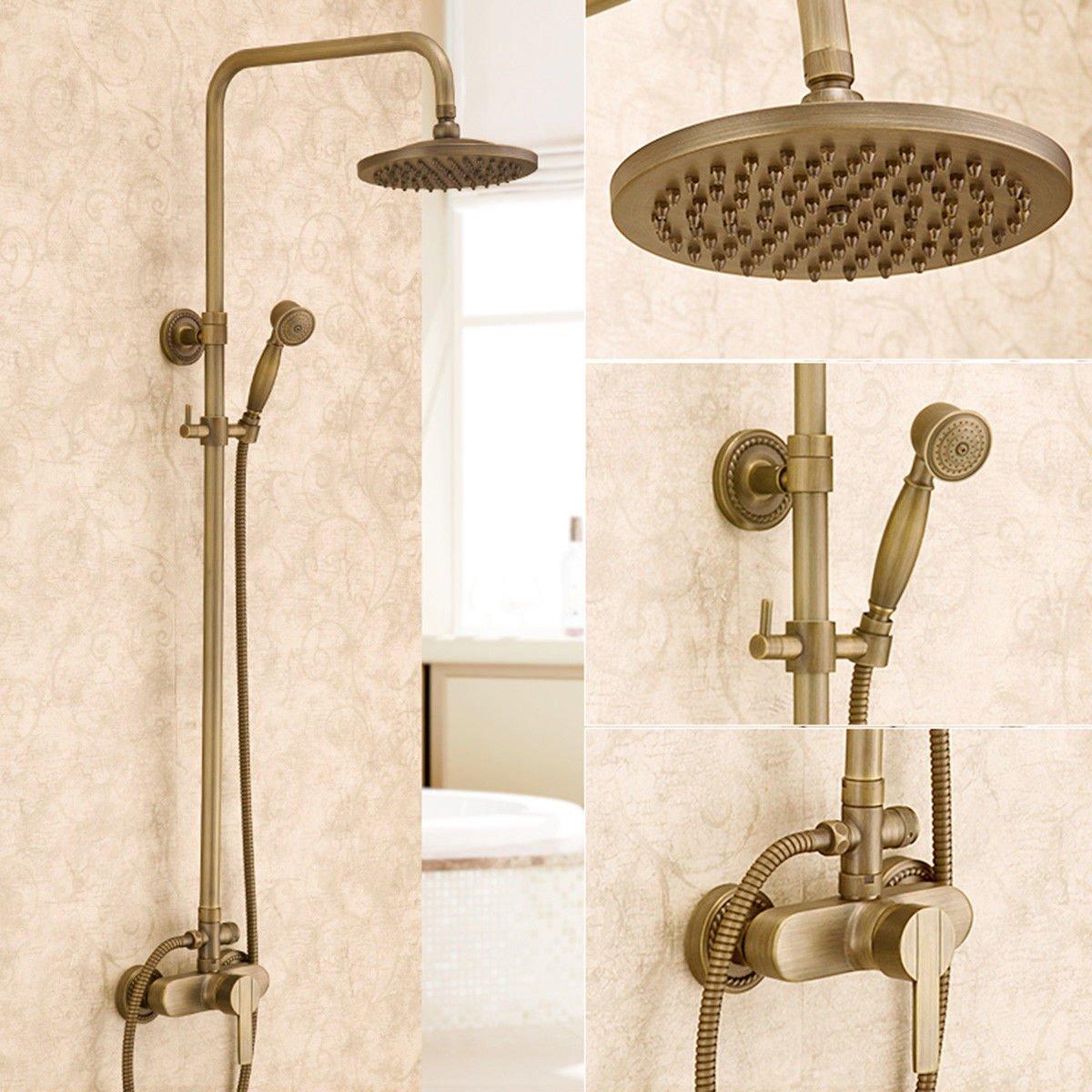 SADASD Contemporary Bathroom Full Copper Basin Faucet Mixer Shower Basin Sink Mixer Tap Ceramic Valve Single Hole Single Handle Cold Water With G1 2 Hose