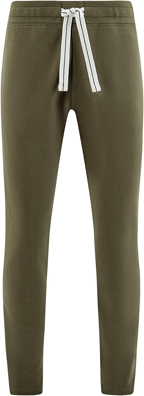 oodji Ultra Hombre Pantalones de Punto B/ásicos