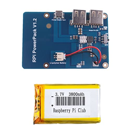 1 opinioni per Crazepony-UK Lithium Battery Expansion Board for Cellphone Raspberry Pi 3 Model