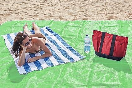 Toalla anti-arena para la playa: La toalla de playa que repele la arena