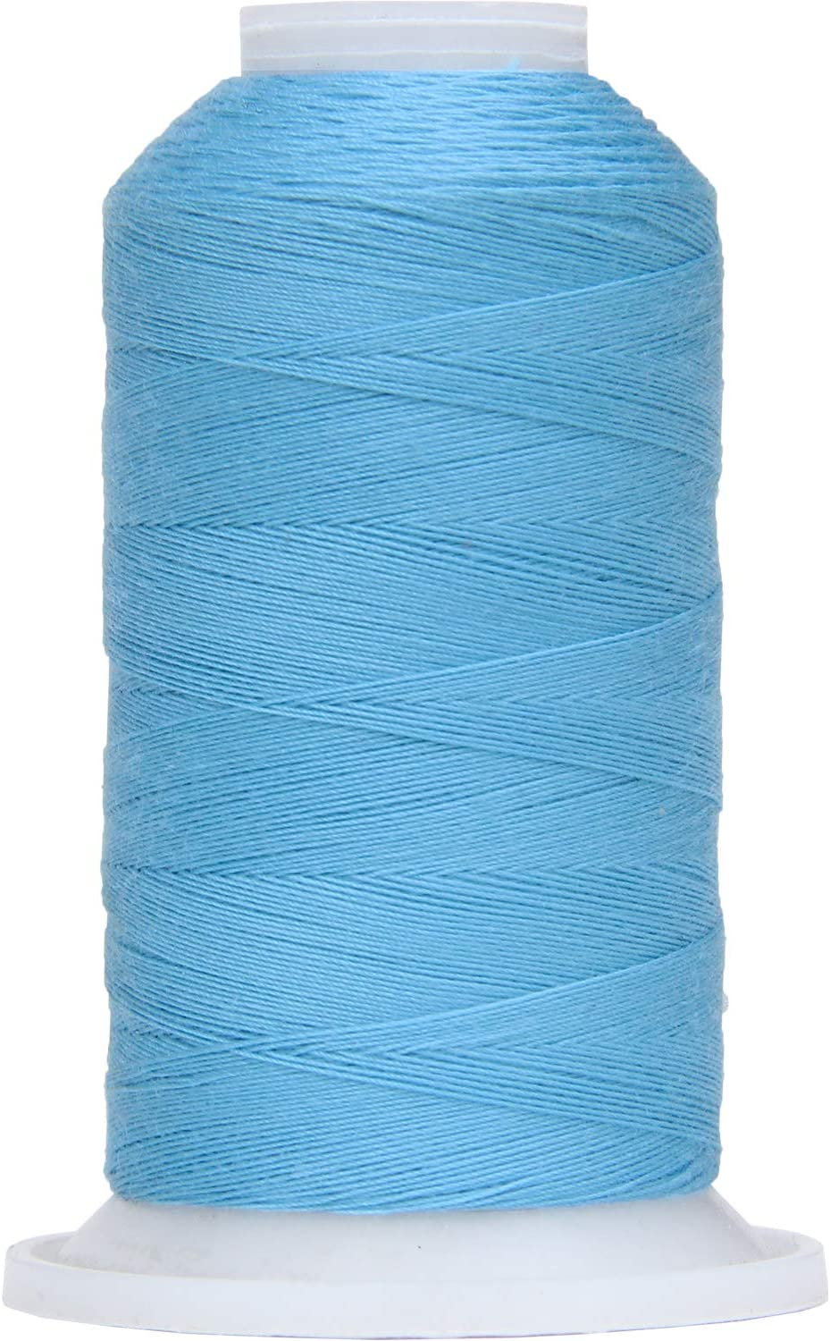New High Quality 1 X Blue Steel Grey 200m Cotton Sewing Thread For Hand//Machine