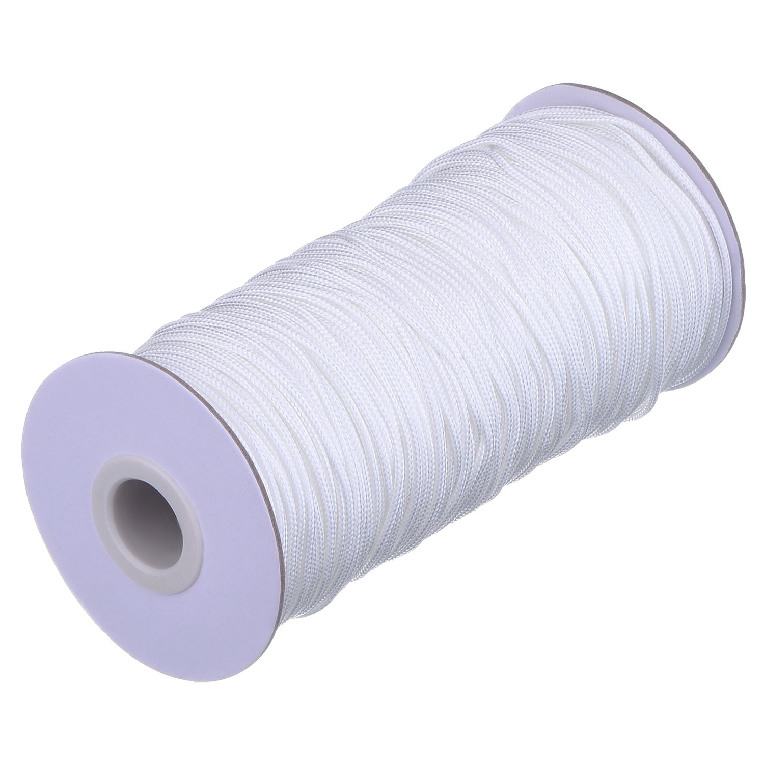 Outus 109 Yards//Roll White Braided Lift Shade Cord for Aluminum Blind Shade Gardening Plant and Crafts 1.8 mm