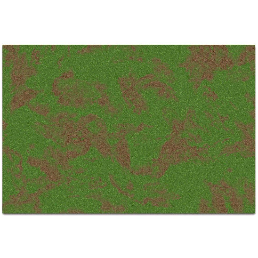 Stratagem 6' x 4' Open Field Grass Terrain Neoprene Tabletop Wargaming Grass Field Battlemat Carrying Case by Stratagem (Image #2)