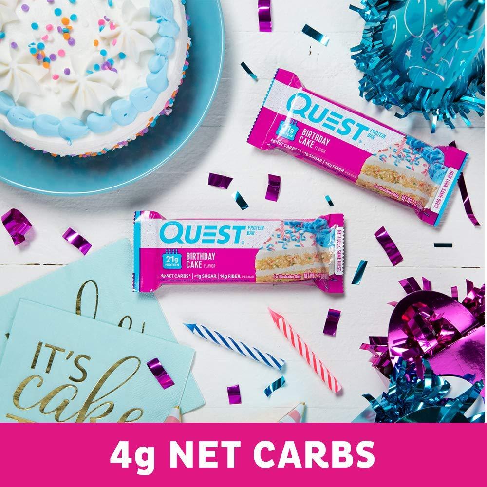 Quest Nutrition Bars Birthday Cake 12 X 60 Gramm