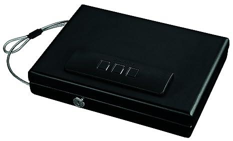 Car Gun Safe Auto Vehicle Electronic Locking Programmable Vault Pistol Lock Box