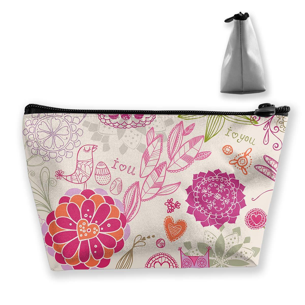 8b2eca3181 Amazon.com  LIBINGZ Portable Cosmetic Bag for Storage of Bulk Bag Hand  Travel Bag Storage Bag New Portable Travel Home Bag Storage  Home   Kitchen