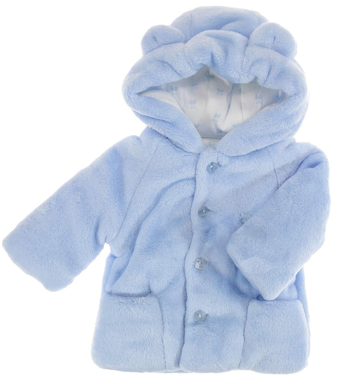 Generic Mayoral Veste d'hiver à Capuche pour bébé garçon Bleu Clair