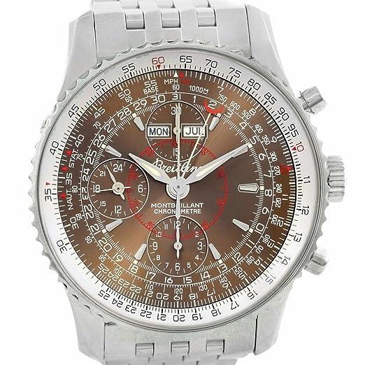 Breitling Montbrillant automatic-self-wind Mens Reloj a21330 (Certificado) de segunda mano: Breitling: Amazon.es: Relojes